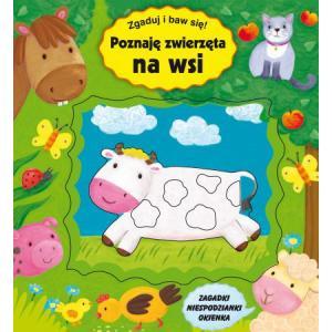 Poznaję zwierzęta na wsi. Zgaduj, ucz się i baw!