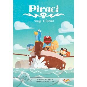 Piraci: Klątwa Wyspy Shukanet. Komiks Paragrafowy