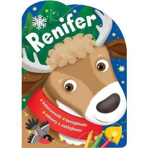 Renifer. Świąteczne activity z wykrojnikiem