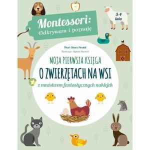 Moja pierwsza księga o zwierzętach na wsi /Montessori/