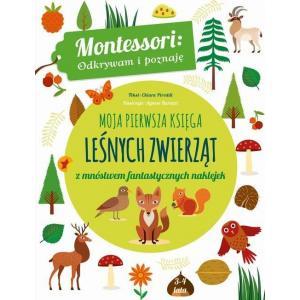 Moja pierwsza księga leśnych zwierząt