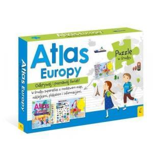 Atlas Europy Pakiet + Puzzle