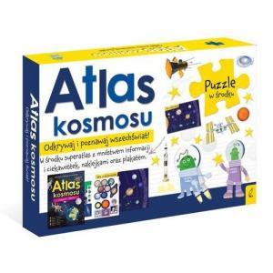 Pakiet Atlas Kosmosu: Atlas w Zastawie z Mapą i Puzzlami