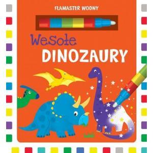 Flamaster Wodny. Wesołe Dinozaury