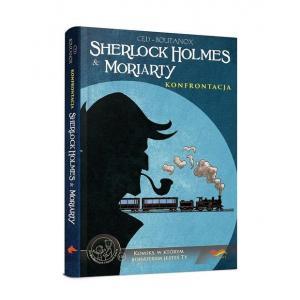 Sherlock Holmes & Moriarty. Konfrontacja. Komiks paragrafowy