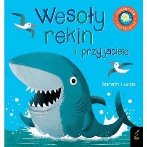 Książka rozkładanka Wesoły rekin i przyjaciele