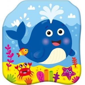 Książeczki kąpielowe Radosny wieloryb
