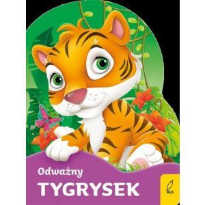 Odważny tygrysek. Wykrojnik