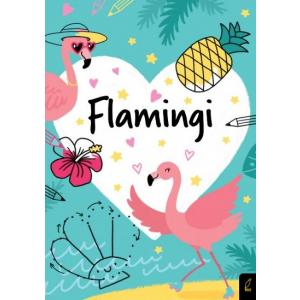 Koloruję. Kocham flamingi