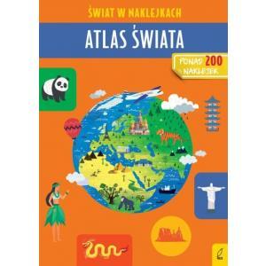 Świat w naklejkach. Atlas świata