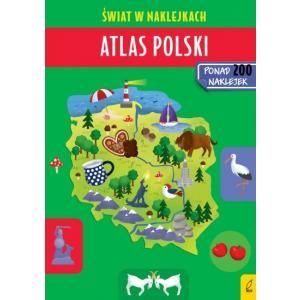 Świat w naklejkach. Atlas Polski