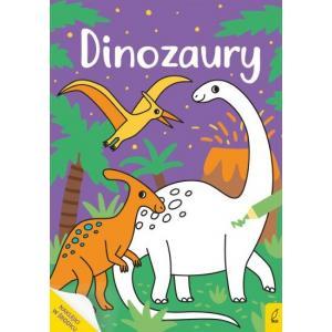 Moja kolorowanka. Dinozaury