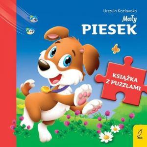 Książka z puzzlami. Mały piesek