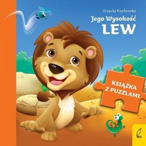 Książka z puzzlami. Jego Wysokość lew