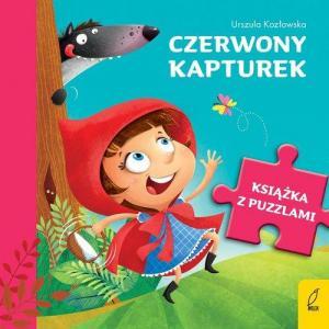Książka z puzzlami. Czerwony Kapturek