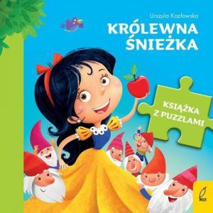 Książka z puzzlami. Królewna Śnieżka
