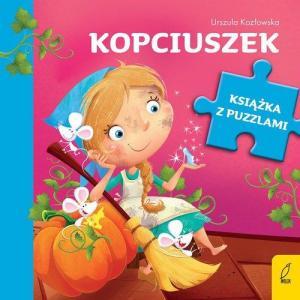 Książka z puzzlami. Kopciuszek