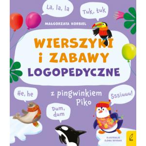 Wierszyki i zabawy logopedyczne z pingwinkiem Piko
