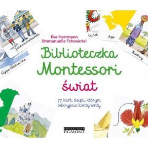 Biblioteczka Montessori Świat
