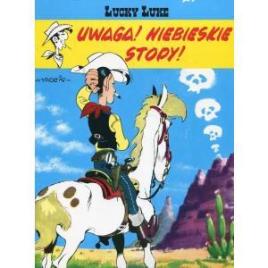 Lucky Luke. Uwaga Na Niebieskie Stopy! Komiks