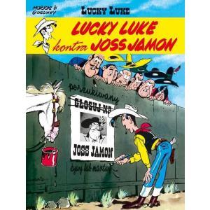 Lucky Luke. Lucky Luke Kontra Joss Jamon. Komiks