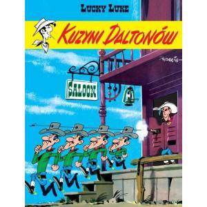 Lucky Luke. Kuzyni Daltonów. Komiks