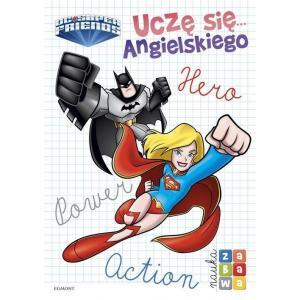 Super Przyjaciele DC Uczę się angielskiego. Nauka i zabawa