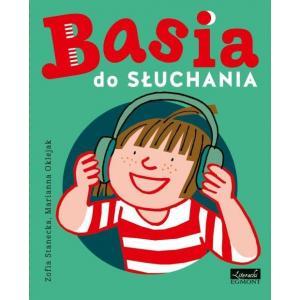 Basia do słuchania. Książka z płytą CD mp3
