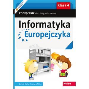 Informatyka Europejczyka. Podręcznik. Klasa 4. Szkoła Podstawowa