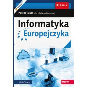 Informatyka Europejczyka. Podręcznik. Klasa 7. Szkoła Podstawowa