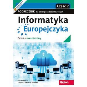 Informatyka Europejczyka. Szkoła ponadpodstawowa. Podręcznik część 2. Zakres rozszerzony
