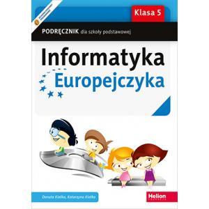 Informatyka Europejczyka. Podręcznik. Klasa 5. Szkoła Podstawowa
