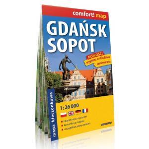 Gdańsk Sopot plan miasta