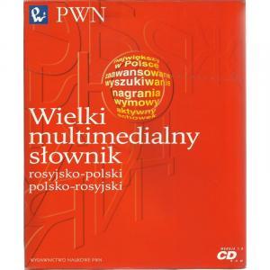 Wielki Multimedialny słownik rosyjsko-polski-rosyjski PWN