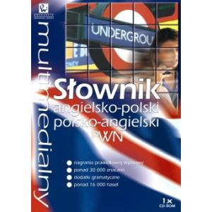 Multimedialny Słownik Angielsko-Polski Polsko-Angielski PWN na CD-ROM