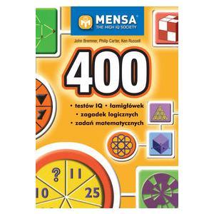 400 Testów IQ, Łamigłówek, Zagadek Logicznych, Zadań Matematycznych