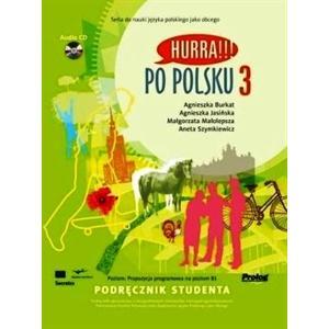 Hurra!!! Po Polsku 3. Podręcznik + Audio CD