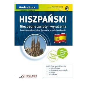 EDGARD Audio Kurs Hiszpański Niezbędne zwroty OOP