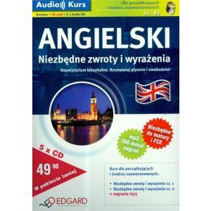 EDGARD Audio Kurs Angielski Pakiet Niezbędne Zwroty OOP