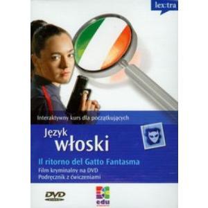 J. włoski. Il ritorno del Gatto Fantasma. Kurs dla pocz. na DVD