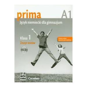 Prima A1. Język Niemiecki dla Gimnazjum. Zeszyt Testów + CD. Klasa 1