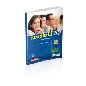 Studio d A2.2 Podręcznik z ćwiczeniami+ Audio CD