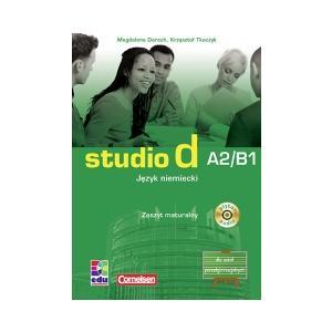 Studio D A2/B1. Zeszyt Maturalny