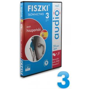 FISZKI Audio. Słownictwo 3   Język Hiszpański