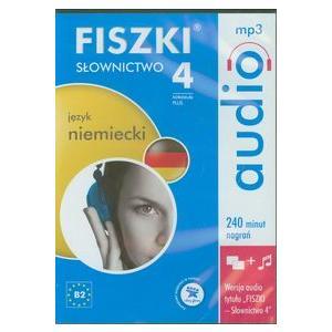 Fiszki Audio. Język niemiecki. Słownictwo 4