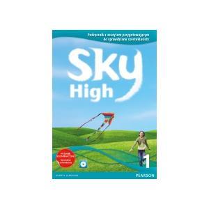 Sky High 1 Podręcznik + Zeszyt Przygotowujący do Sprawdzianu Szóstoklasisty + MultiROM