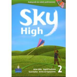 Sky High 2. Podręcznik + Zeszyt Przygotowujący do Sprawdzianu Szóstoklasisty + MultiROM