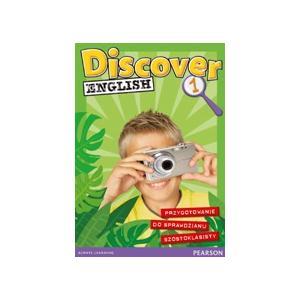 Discover English 1. Podręcznik + Zeszyt Przygotowujący do Sprawdzianu Szóstoklasisty