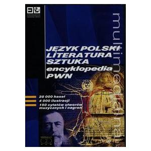 Multimedialna Encyklopedia PWN. Język Polski, Literatura, Sztuka. Wersja 2.0 CD-ROM