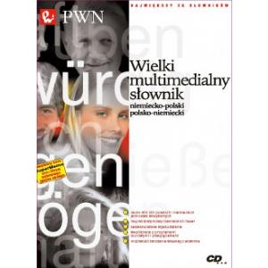 Wielki Multimedialny Słownik Niemiecko-Polski Polsko-Niemiecki PWN na CD